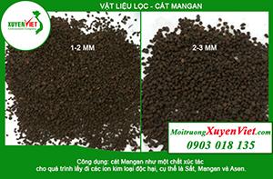 Cát mangan xử lý phèn