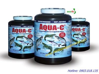 AquaClean C xử lý ao nuôi thủy sản - Môi trường Xuyên Việt